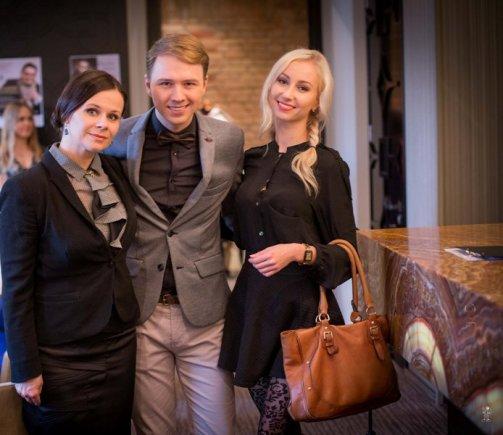 Sauliaus Gerdausko nuotr./Mantas Wizard ir Kristina Tarasevičiūtė (dešinėje)