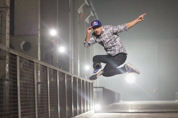 """Dirk Mathesius/Red Bull Content Pool nuotr./Vokietijos šokių trupė """"Flying Steps"""""""