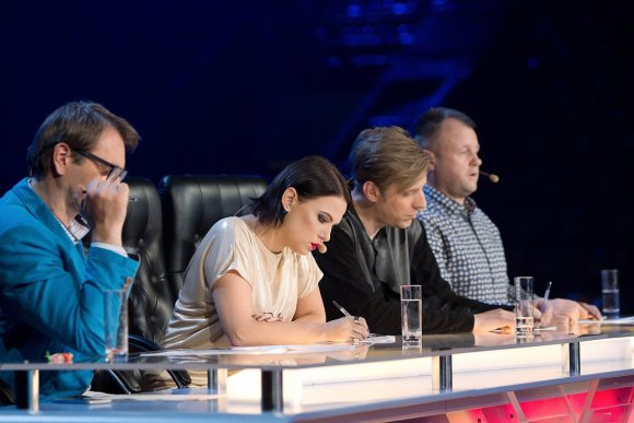 """TV3 nuotr./""""X Faktoriaus"""" perklausos akimirka"""