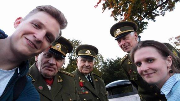 Daumanto Liekio nuotr./Dienos su partizanais vienos geriausių