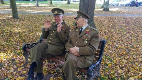 Daumanto Liekio nuotr./Partizanai Birštone vėl pasijuto reikalingi