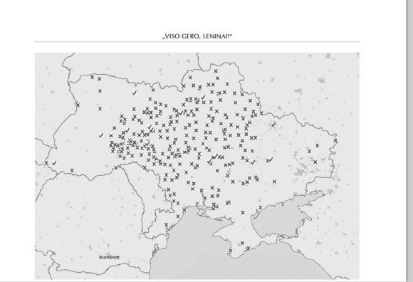 Lenino paminklų demontavimo/nuniokojimo atvejai nuo 2013m. gruodžio 8 d. iki 2014 m. kovo 21 d.45