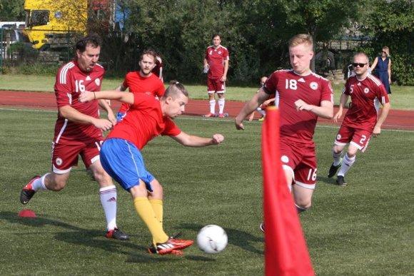 Martyno Pociaus nuotr./Tarptautinis žurnalistų futbolo turnyras Druskininkuose