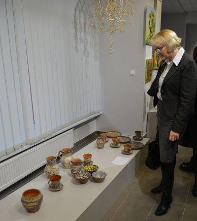 Varėnoje pristatyta paroda Auksalio kupkas
