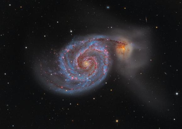 "Nasa.com nuotr./Verpetas per kosminį ""Hubble"" teleskopą"
