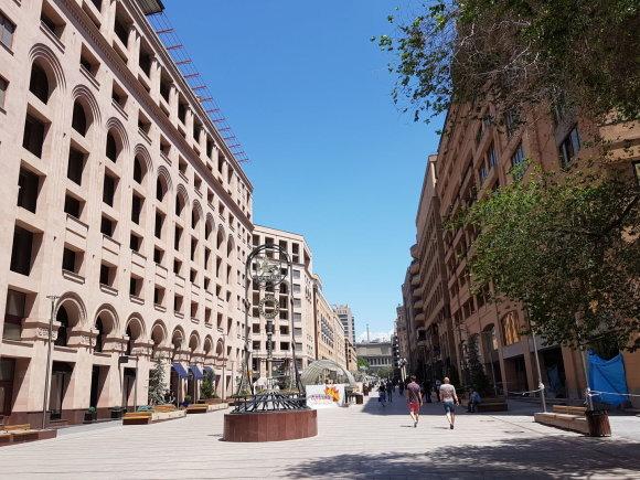 Raimundos Celencevičiaus/15min nuotr./Armėnijos sostinė Jerevanas