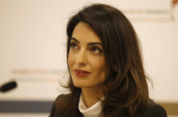 """""""Reuters""""/""""Scanpix"""" nuotr./Amal Clooney"""
