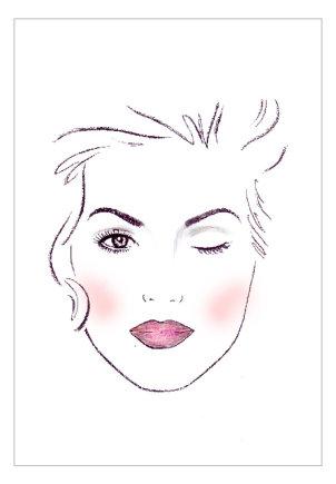 """""""Mary Kay"""" iliustracija/Dėmesys lūpoms"""