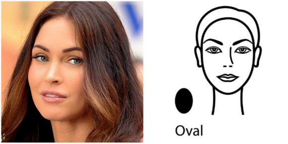 Vida Press nuotr./Veido forma – ovalas: Megan Fox