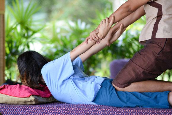 """""""Fotolia"""" nuotr./Tajų masažas"""
