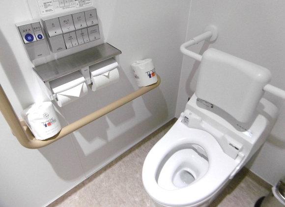 E.Digrytės nuotr./Modernus tualetas Japonijoje