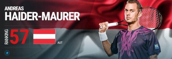 atpworldtour.com nuotr./Andreasas Haider-Maureris