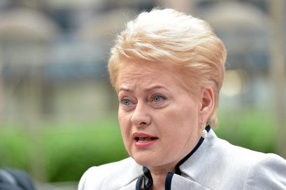 """""""Scanpix"""" nuotr./Dalia Grybauskaitė"""