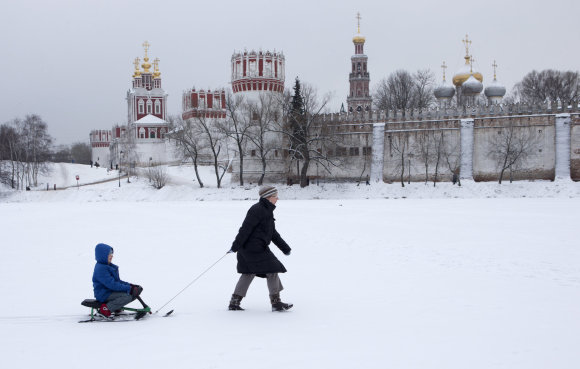 """""""Scanpix"""" nuotr./Rusijos Novodevičės vienuolynas"""