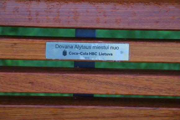 "Alytaus savivaldybės nuotr./""Coca-Cola"" dovana Alytui"