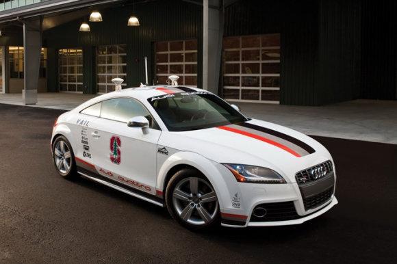"Gamintojo nuotr./""Autonomous Audi TTS Pikes Peak"""