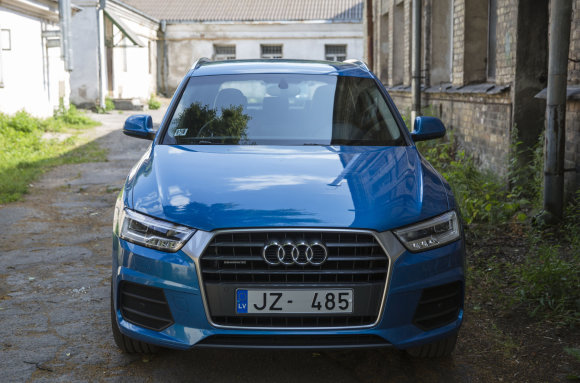 "Luko Balandžio/15min.lt nuotr./""Audi Q3"""