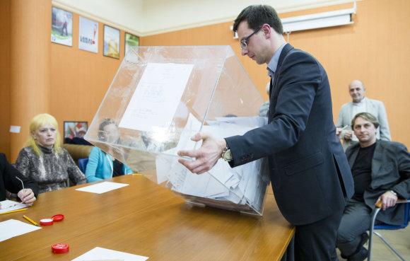 Luko Balandžio/15min.lt nuotr./Konservatoriu partijos pirmininko rinkimai