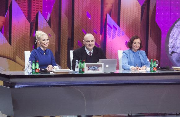 Luko Balandžio/15min.lt nuotr./Natalija Bunkė, Giedrius Drukteinis ir Asta Baukutė
