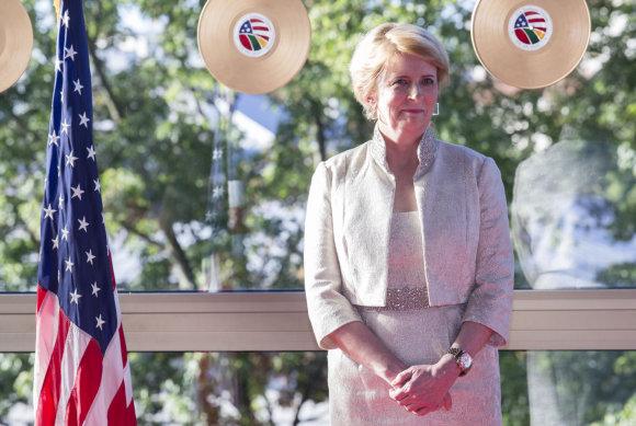 Luko Balandžio/15min.lt nuotr./JAV ambasadorė Deborah Ann McCarthy
