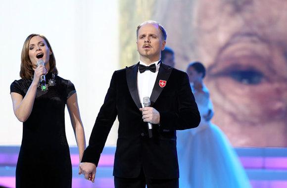 Luko Balandžio/Žmonės.lt nuotr./Kristina Zmailaitė ir Edmundas Seilius