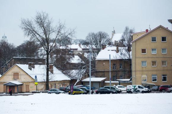 Luko Balandžio / 15min nuotr./Šalia Neries planuojama statyti naujus pastatus