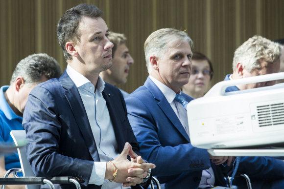 Luko Balandžio / 15min nuotr./Tėvynės sąjungos – Lietuvos krikščionių demokratų tarybos posėdis