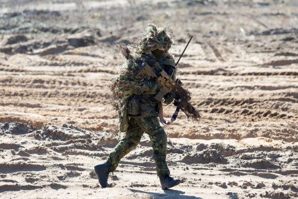 Luko Balandžio / 15min nuotr./Lietuvos narystės NATO jubiliejaus išvakarėse – premjero S.Skvernelio vizitas Rukloje