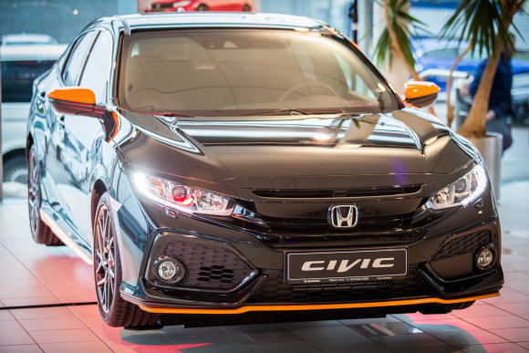 """Luko Balandžio / 15min nuotr./Naujasis """"Honda Civic"""""""