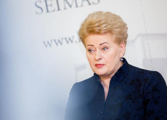 Luko Balandžio / 15min nuotr./Dalia Grybauskaitė