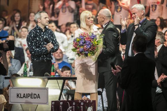 Viganto Ovadnevo/Žmonės.lt nuotr./Finalo akimirka
