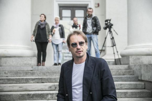 Viganto Ovadnevo/Žmonės.lt nuotr./Krepšininkų sutikimas Vilniuje