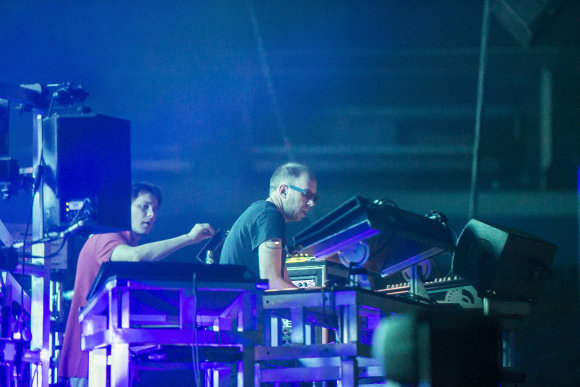 "Viganto Ovadnevo/Žmonės.lt nuotr./""The Chemical Brothers"" koncertas Vilniuje"