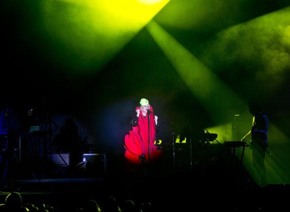 Gretos Skaraitienės/Žmonės.lt nuotr./Roisin Murphy koncertas Vilniuje