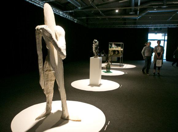 """Gretos Skaraitienės/Žmonės.lt nuotr./Tarptautinė šiuolaikinio meno mugė """"ArtVilnius'16"""""""