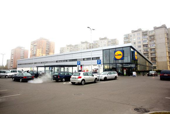 """Teodoro Biliūno / 15min nuotr./""""Lidl"""" parduotuvė Kaune"""