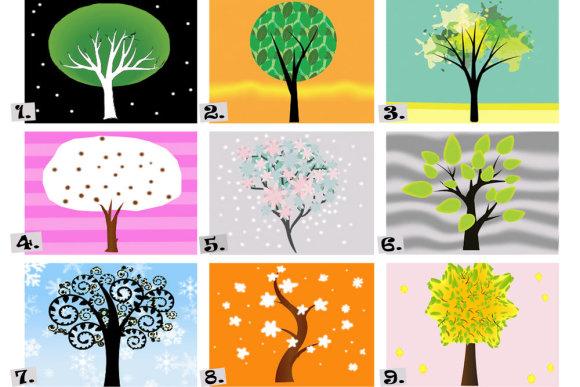 Fotolia ir Shutterstock nuotr./Jūsų asmenybė pagal medžio piešinėlį