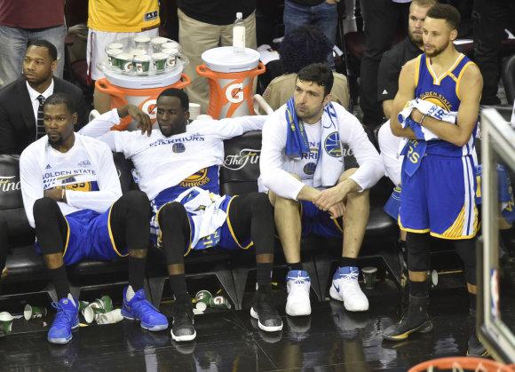 """Scanpix""/AP nuotr./""Cavaliers"" – ""Warriors"""