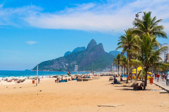 Shutterstock.com nuotr./Ipanema paplūdimys