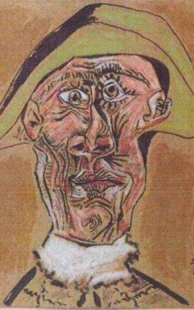 "Pablo Picasso ""Arlekino galva"""