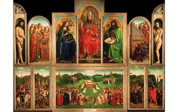 """Jano Van Eycko """"Teisėjai iš Gento altoriaus"""""""