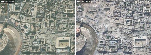 US Department of State, Humanitarian Information Unit, NextView License (DigitalGlobe) nuotr./Alepas