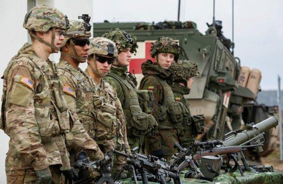 KAM nuotr./JAV kariai
