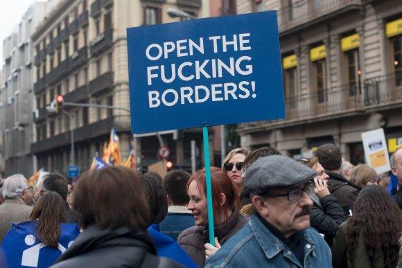 """""""Reuters""""/""""Scanpix"""" nuotr./Demonstracija Ispanijoje"""