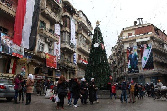 """AFP/""""Scanpix"""" nuotr./Alepas Naujųjų metų išvakarėse"""