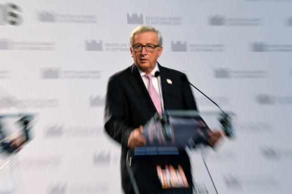 """Sputnik""/""Scanpix"" nuotr./Jeanas Claude'as Junckeris"