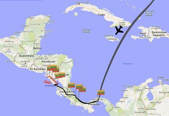 Asmeninė nuotr./Vataipbuna.lt/Kelionė po Nikaragvą