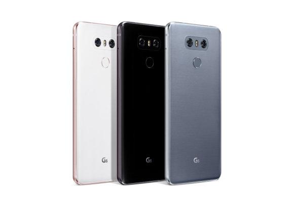"""LG nuotr./""""LG G6"""" telefonas"""