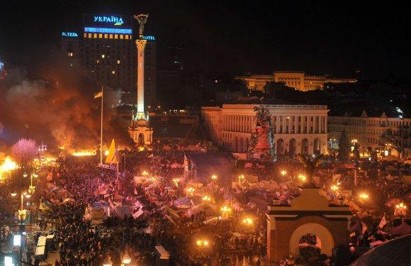 "AFP/""Scanpix"" nuotr./Maidano šturmas"