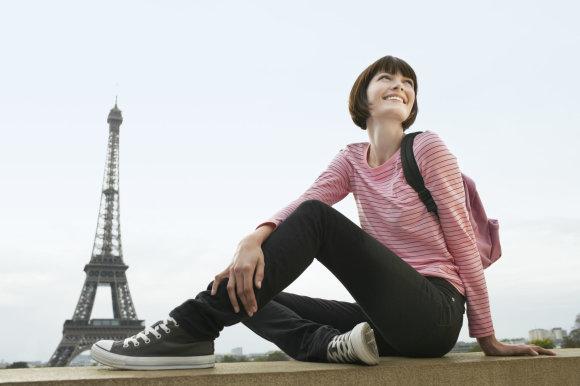 """Scanpix""/""Picture-Alliance"" nuotr./Moteris Paryžiuje"